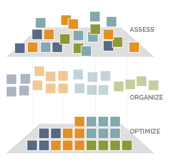 assess-organize-optimize